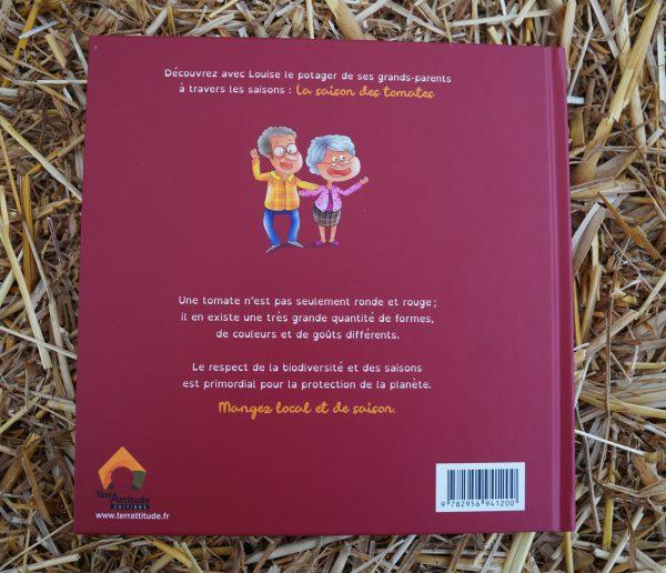 Terrattitude - Livre Louise à la découverte des tomates