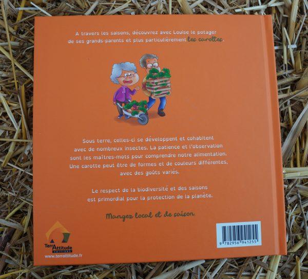 Terrattitude - Livre Louise à la découverte des carottes