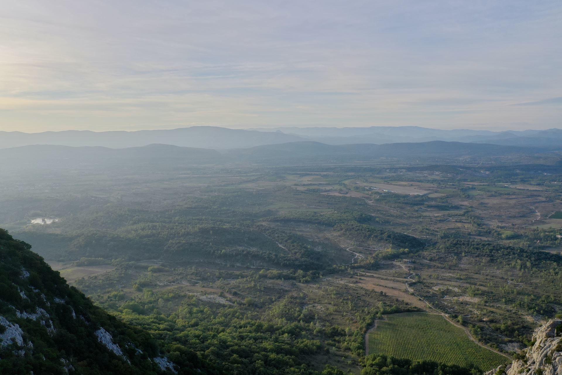 Pic St Loup dans l'Hérault
