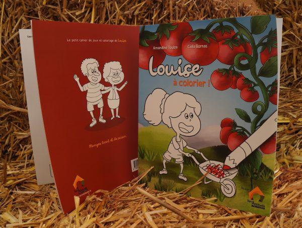 Terrattitude - Livre de Louise à Colorier