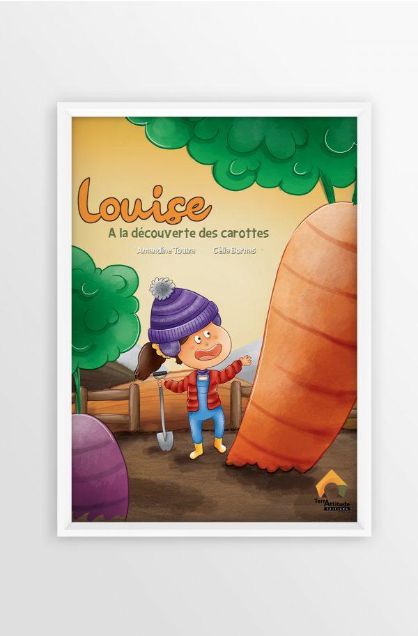 Terrattitude - Poster Louise à la découverte des carottes